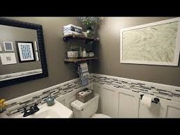 Renovation Rescue Small Bathroom on a Budget YouTube Unique Youtube Bathroom Remodel