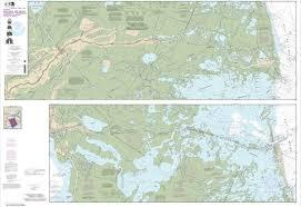 Barataria And Bayou Lafourche Waterways Intracoastal Waterway To Gulf Of Mexico Chart 11365