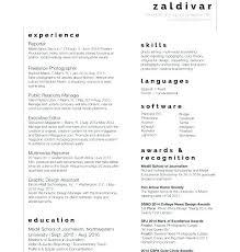 Modern Broadcast Journalism Resume Sample Illustration - Resume ...