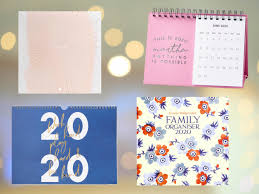 Best 2019 Calendar Design Best 2020 Calendars To Inspire A More Organised You In The
