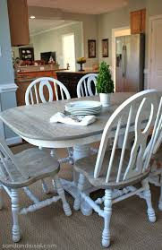 How To Refinish A Table Furniture Pinterest Table Furniture Mesmerizing Paint Dining Room Table Property