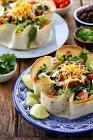baked taco bowl salad