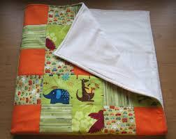 Baby Boy Blanket - Green & Orange, Patchwork Quilt – Sewing ... & Blanket-orange_large Adamdwight.com