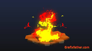 After Effects Animation Download 2d Animation Of A Fire Pit In After Effects