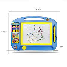 <b>Children Magnetic</b> Drawing Board Erasable Sketch <b>Doodle</b> Pad ...