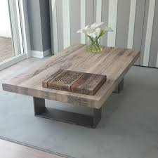 distressed white wood furniture. Oversized Distressed Coffee Table \u2014 The New Way Home Decor : In Tuffed Style White Wood Furniture