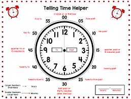 Telling Time Tj Homeschooling
