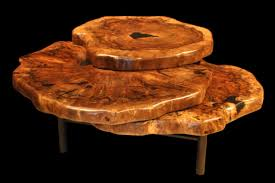 Image of: Tree Trunk Coffee Table Type