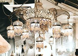 moroccan chandelier large
