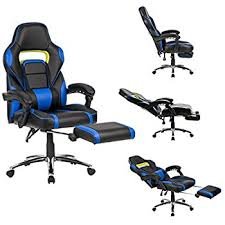 padded office chairs. langria computer gaming chair faux leather racing style executive office ergonomic high back design with padded chairs e