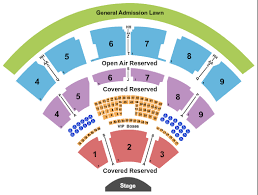 Coastal Music Park Seating Chart Coastal Credit Union At Walnut Creek Seating Chart Raleigh