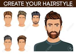 Create Change Of Hairstyle Choices Men Hair Style Symbol Hipster