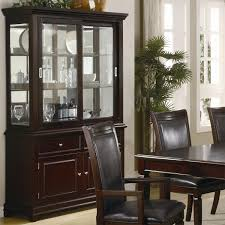 Kitchen Buffet Hutch Furniture Coaster Furniture 101634 Ramona Dining Buffet With Hutch In Walnut