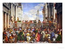 famous renaissance artists & paintings renaissanceartists org The Wedding At Cana Painting By Paolo Veronese wedding at cana paolo veronese Paolo Veronese Inquisition