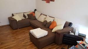 Couch Wohnlandschaft Xxl Braun Schlaffunktion In 39418