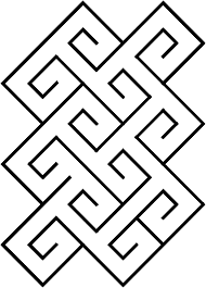 File Celtic Spiral Tile Pattern Png Wikimedia Commons