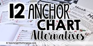 Anchor Chart Display Ideas Anchor Chart Alternatives Teaching In The Tongass