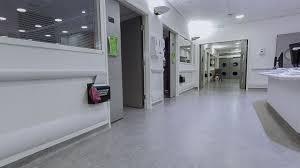 vinyl flooring to a hospital ward