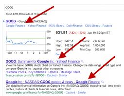 google current stock price