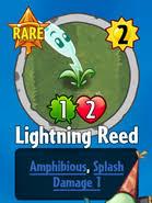 plants vs zombies 2 lightning reed damage. receiving lightning reed plants vs zombies 2 damage