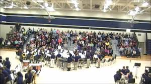 carolina springs middle school carolina springs middle school 6th grade band fall concert 2016