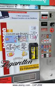 Cigarette Vending Machines Illegal Delectable Cigarette Vending Machine Stock Photo 48 Alamy