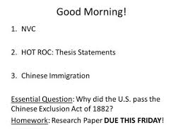essay outline re ed ppt nvc hot roc thesis statements chinese immigration