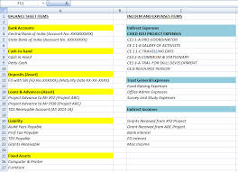 How To Prepare Chart Of Accounts In Ngo Kcjm Ngo