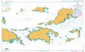 Bvi Navigation Charts Nautical Charts Nautical Charts Are Available In Two General