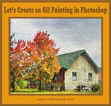 oil painting effect in photo