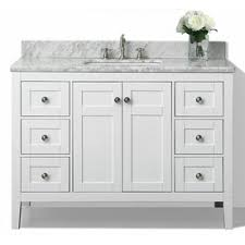 Innovation White Bathroom Vanities With Drawers Designs Maili Undermount Single Sink Vanity Throughout Perfect Ideas