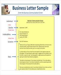 44 Business Letter Format Free Premium Templates