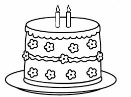 Shopkins Birthday Cake Coloring Page Black And White Unicorn