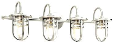 chrome bathroom vanity light vanities lights contemporary brushed nickel 4 lighting loading zoom polished y89