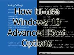Advanced Options Windows 10 How To Use Windows 10 Advanced Boot Options