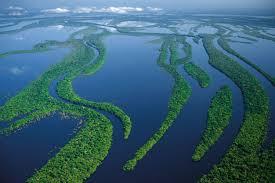 Eñ río Amazonas