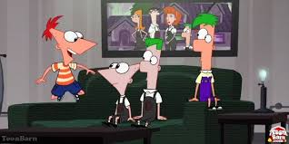 phineas and ferb across the 2nd dimension on disney channel