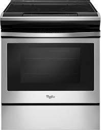 whirlpool 4 8 cu ft self cleaning slide in electric range stainless steel wee510s0fs best