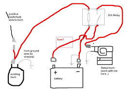 yzf600r forums • view topic stebel air horn installation the four wires out of the relay are to the positive wire going to your existing horn to ground i used the negative lug on the battery