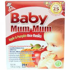 Hot Kid, <b>Baby Mum</b>-<b>Mum</b>, <b>рисовые</b> галеты с яблоком и тыквой, 24 ...