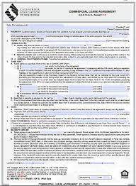 Standard Commercial Lease Agreement Commercial Lease Agreement California Gtld World Congress