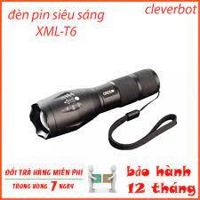 Đèn pin siêu sáng XML-T6 - A100, đèn pin và đèn sạc loại tốt
