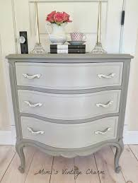 two tone furniture painting. Great Colors And Hardware - Mimi\u0027s Vintage Charm.: French Linen Dresser, Chalk Paint® Decorative Paint By Annie Sloan Beautiful! Two Tone Furniture Painting