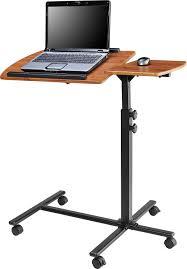 com ameriwood home jacob laptop cart cherry black kitchen dining
