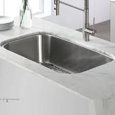 Kraus Stainless Steel 31 x 19 Undermount Kitchen Sink with Drain