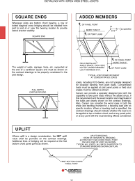 Joist Design Example Table Of Contents Steel Pdf Free Download