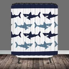full image for chic shark shower curtain 31 shark week shower curtain target shark shower curtain
