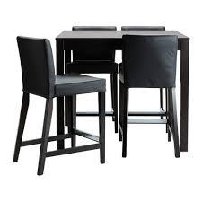 bjursta henriksdal bar table and 4 stools ikea pertaining to design 17