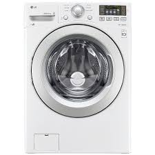 LG 4.3-cu ft High-Efficiency Stackable Front-Load Washer (White)