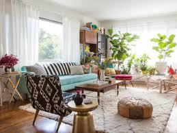 Retro Living Room Living Room Blue Skirted Chair Living Room Vintage Living Room